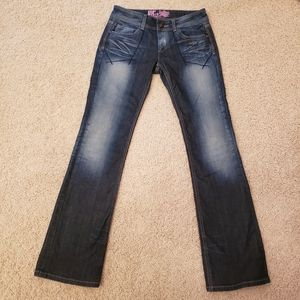 Rerock for Express Distressed Jeans Boot Cut